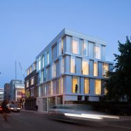 The Paintworks with crumpled paper facade by Droo