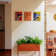 Emily Forgot uses furniture-making processes for architectural wall art