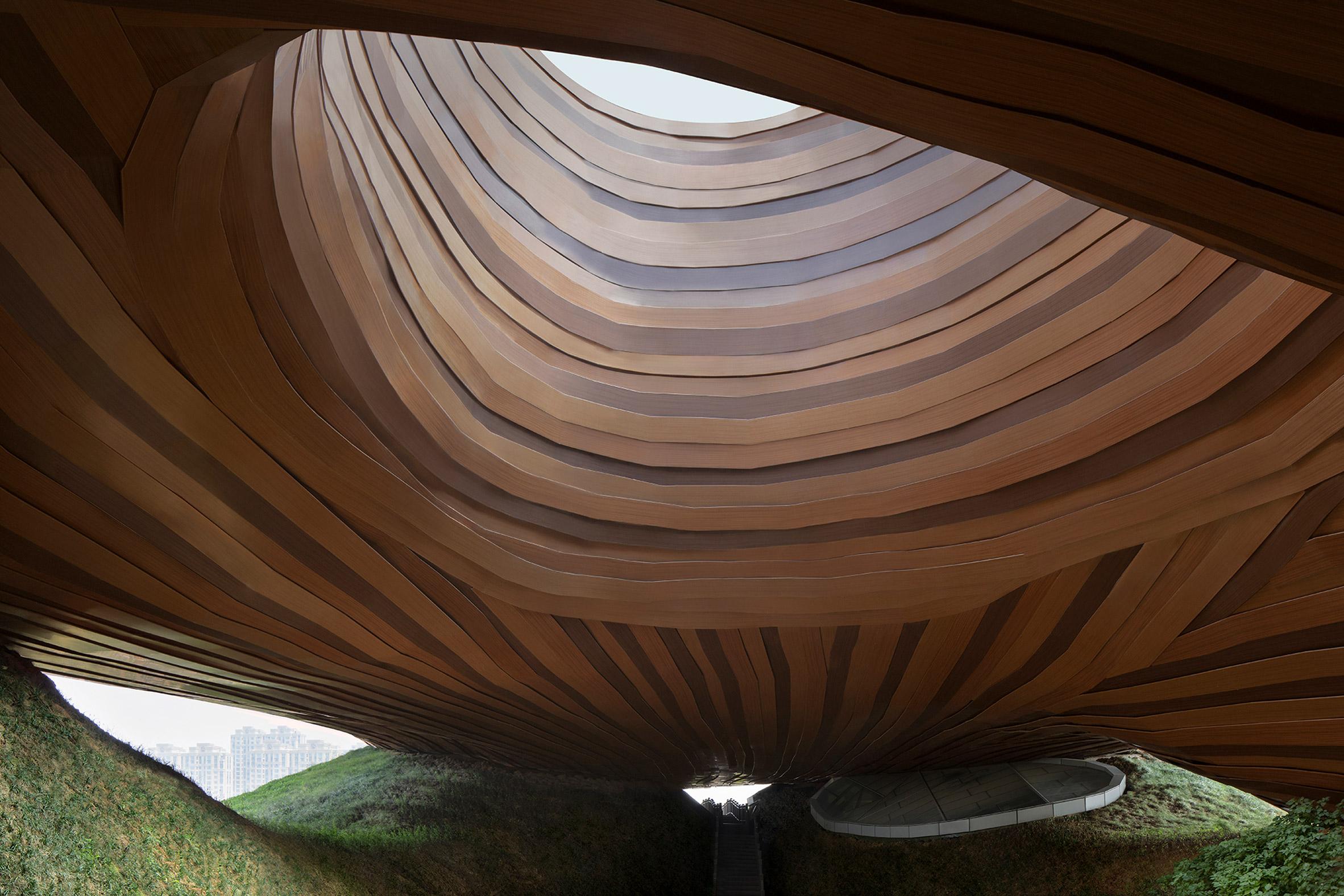 Liyang Museum Floating Melodies by CROX