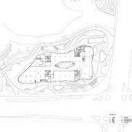 Ground floor plan of Liyang Museum Floating Melodies by CROX