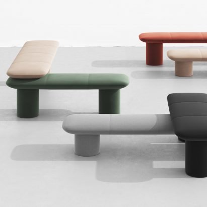 Levels benches by Form Us With Love for +Halle