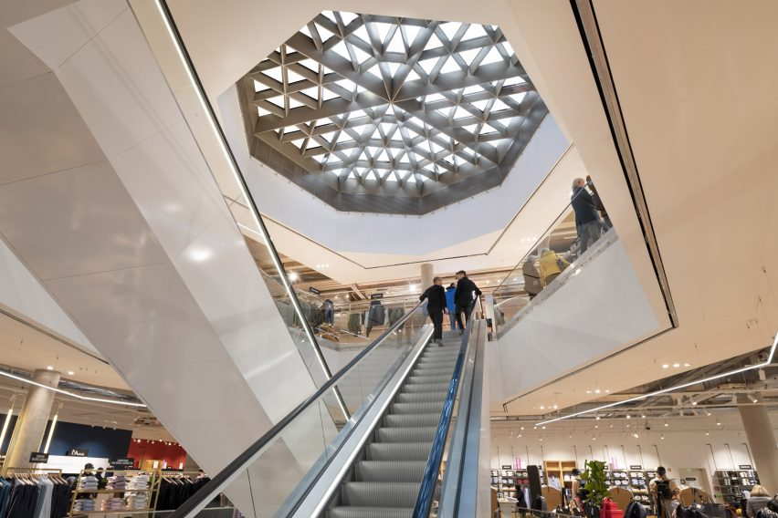 Galeries Lafayette department store in Luxembourg by Foster + Partners