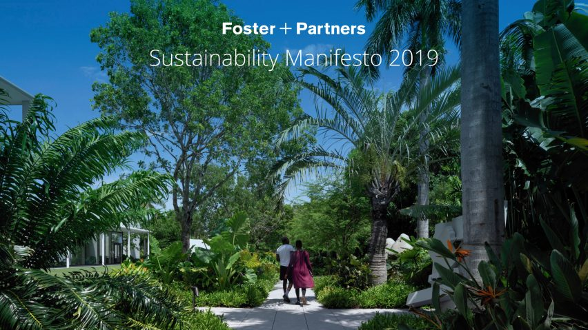 Foster + Partners launches sustainability manifesto