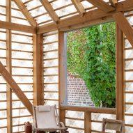 Garden Room by Indra Janda window