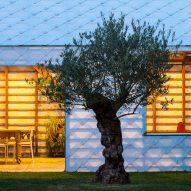 Garden Room by Indra Janda by night