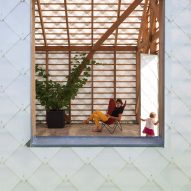 Garden Room by Indra Janda window