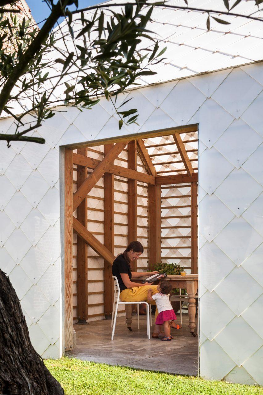 Garden Room by Indra Janda entrance