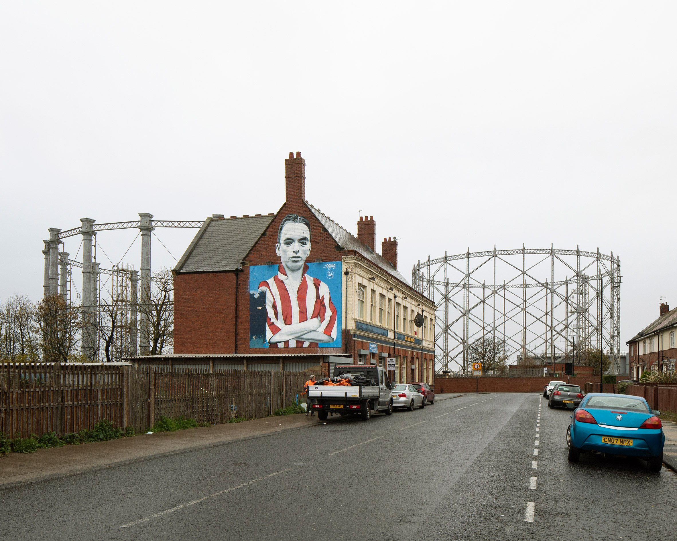 Offgrid: photographs of UKgas holders by Richard Chivers