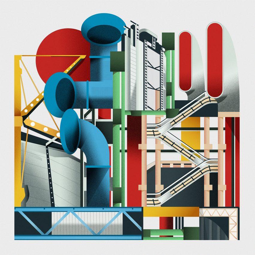 High-tech architecture series by Dezeen