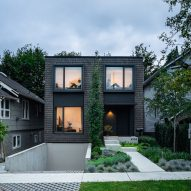 Vancouver home by D'Arcy Jones Architects designed to mesh with neighbouring buildings