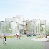 LOHA designs affordable housing complex for difficult site in Los Angeles