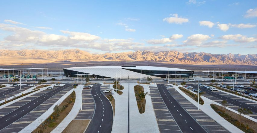 Ramon Airport by Mann Shinar Architects