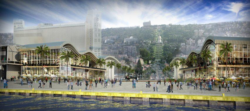 Haifa development by Mann Shinar Architects