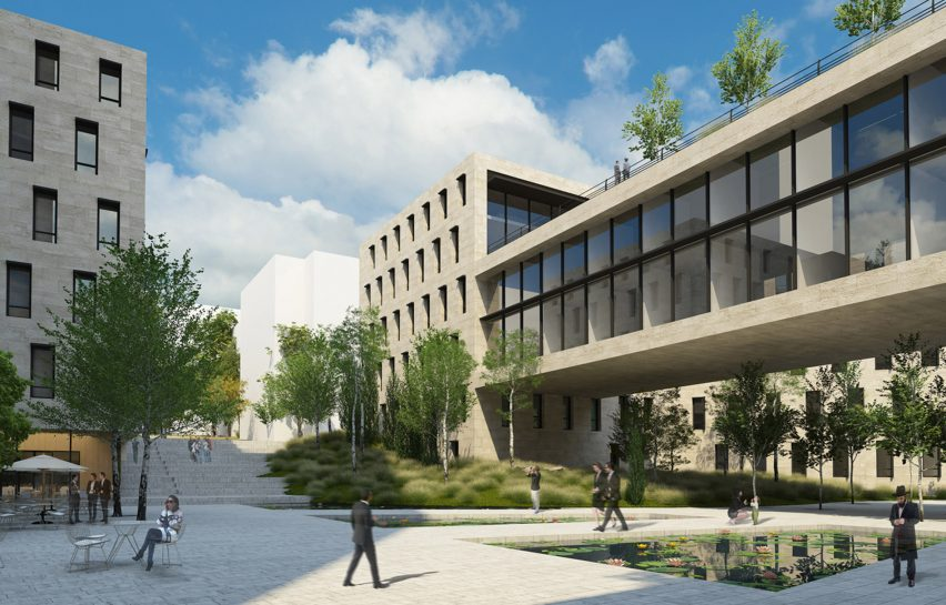 Ministry of Defence Israel by Mann Shinar Architects