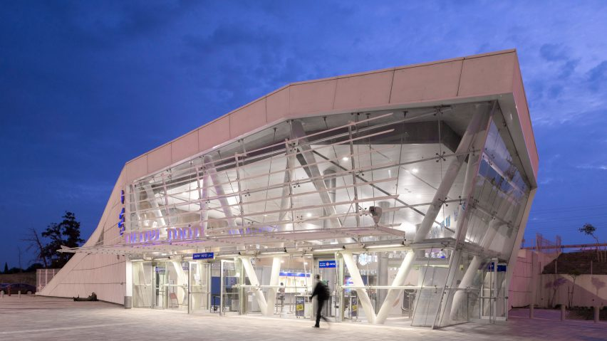 Sderot Train Station by Mann Shinar Architects
