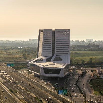 Rishonim Center by Mann Shinar Architects