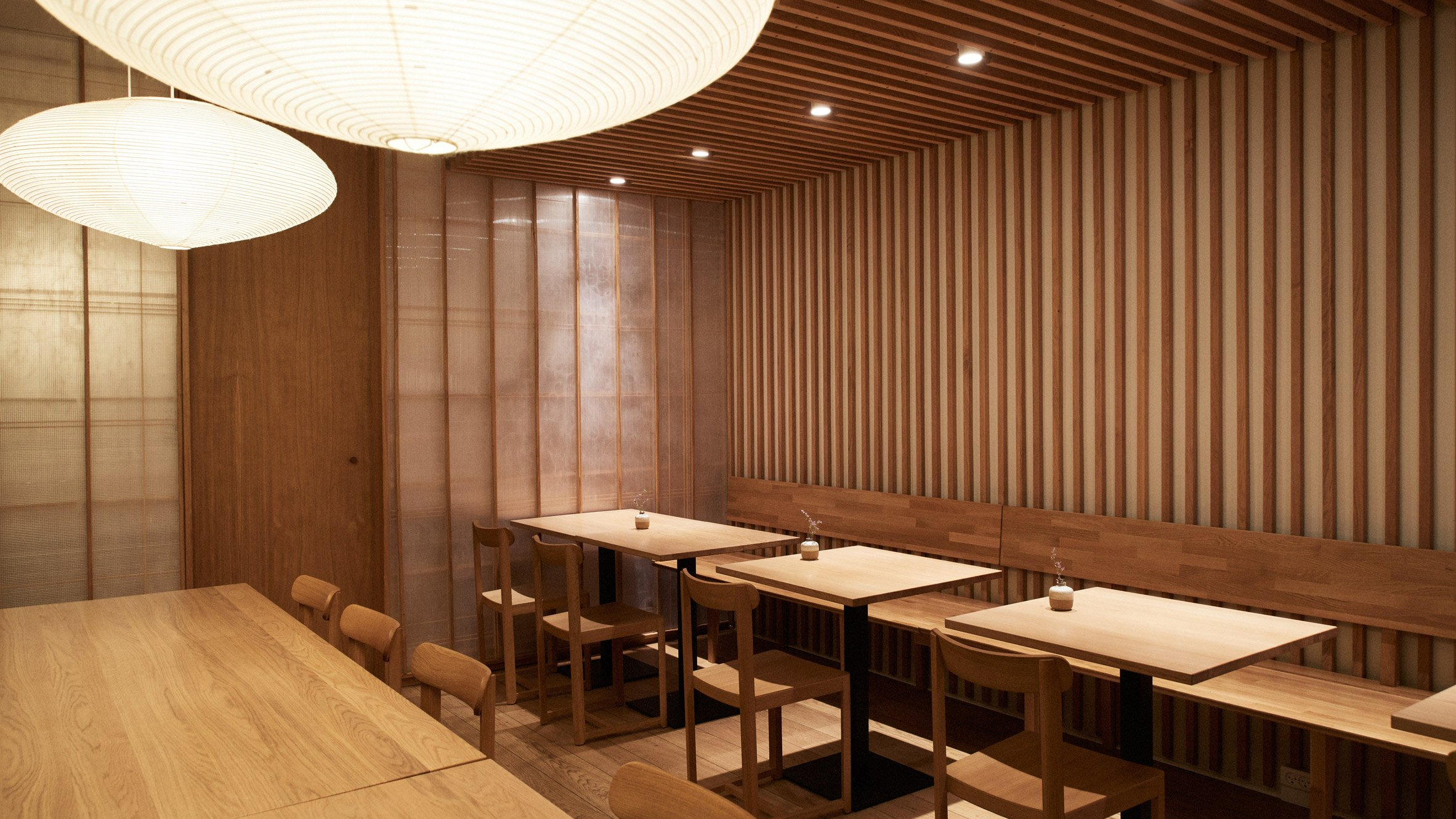 Izumi Charlottenlund restaurant design reflects its Nordic