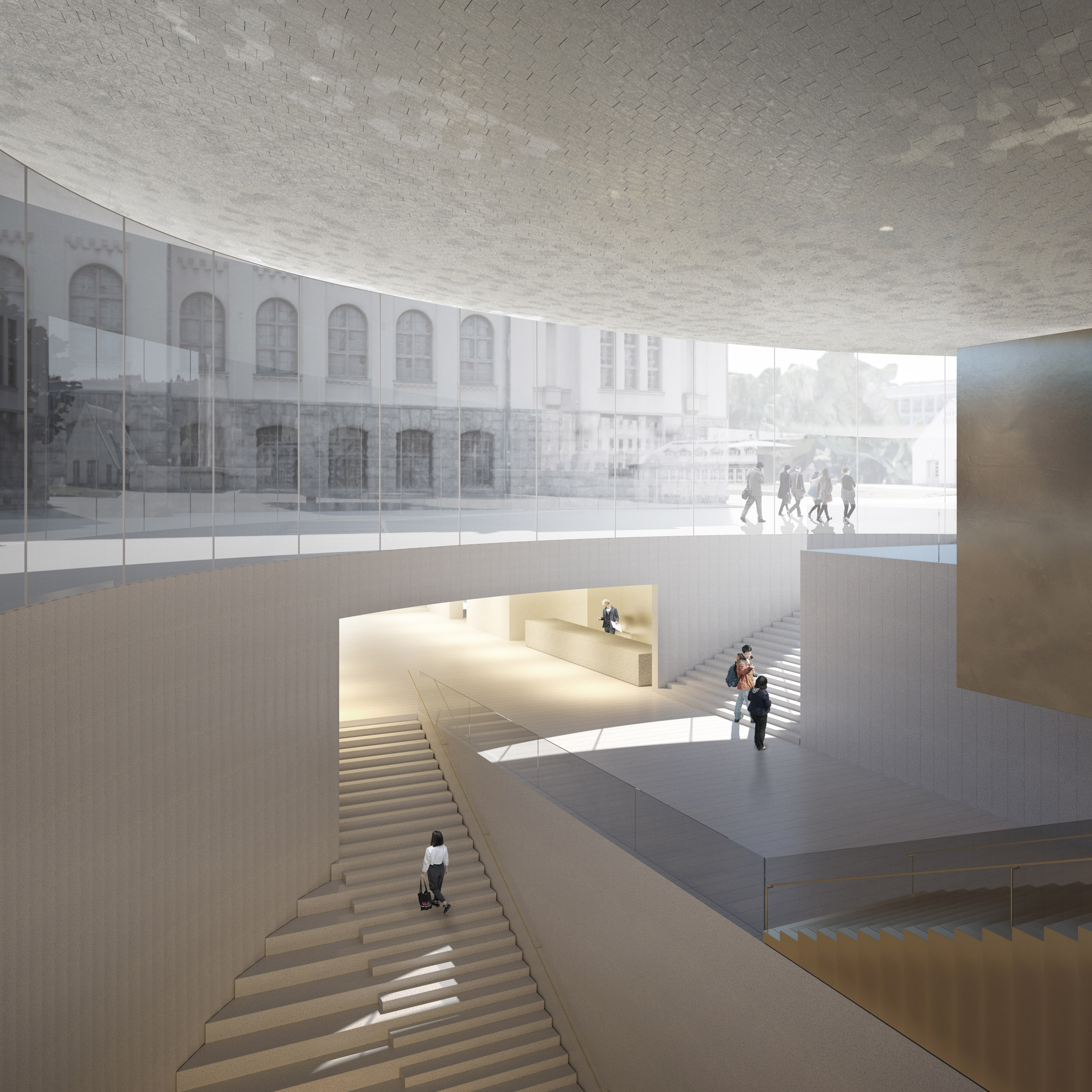 National Museum of Finland extension by JKMM Architects