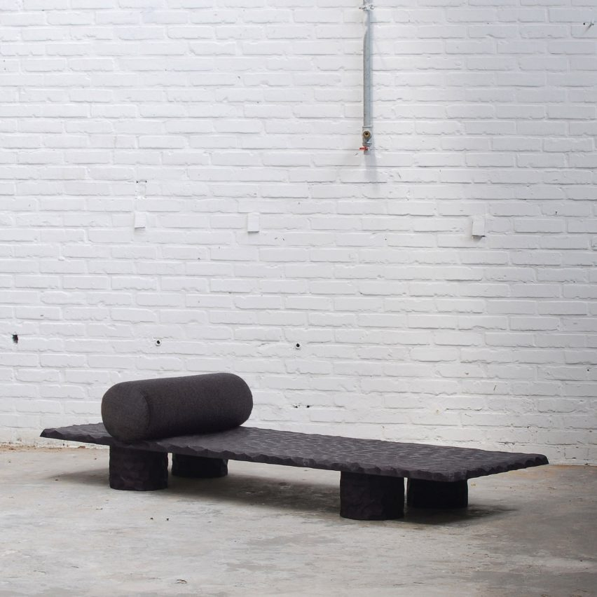 Archetyping Daybed by Linde Freya Tangelder of Destroyers/Builders