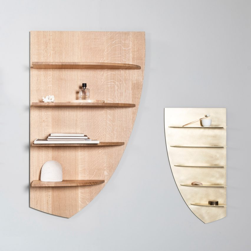 Etage Shelves by Linde Freya Tangelder of Destroyers/Builders