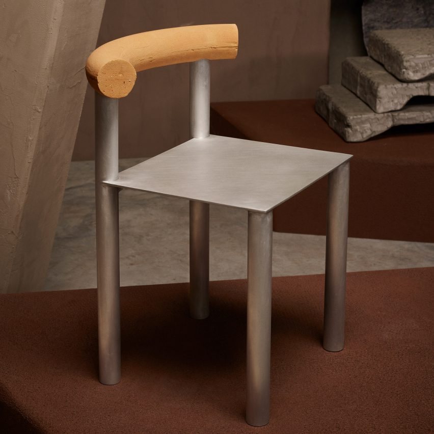 Brick's Reflection Chair by Linde Freya Tangelder of Destroyers/Builders