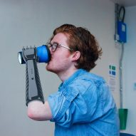Lorenzo Spreafico's 3D-printed prosthetic arm provides tactile feedback for low cost