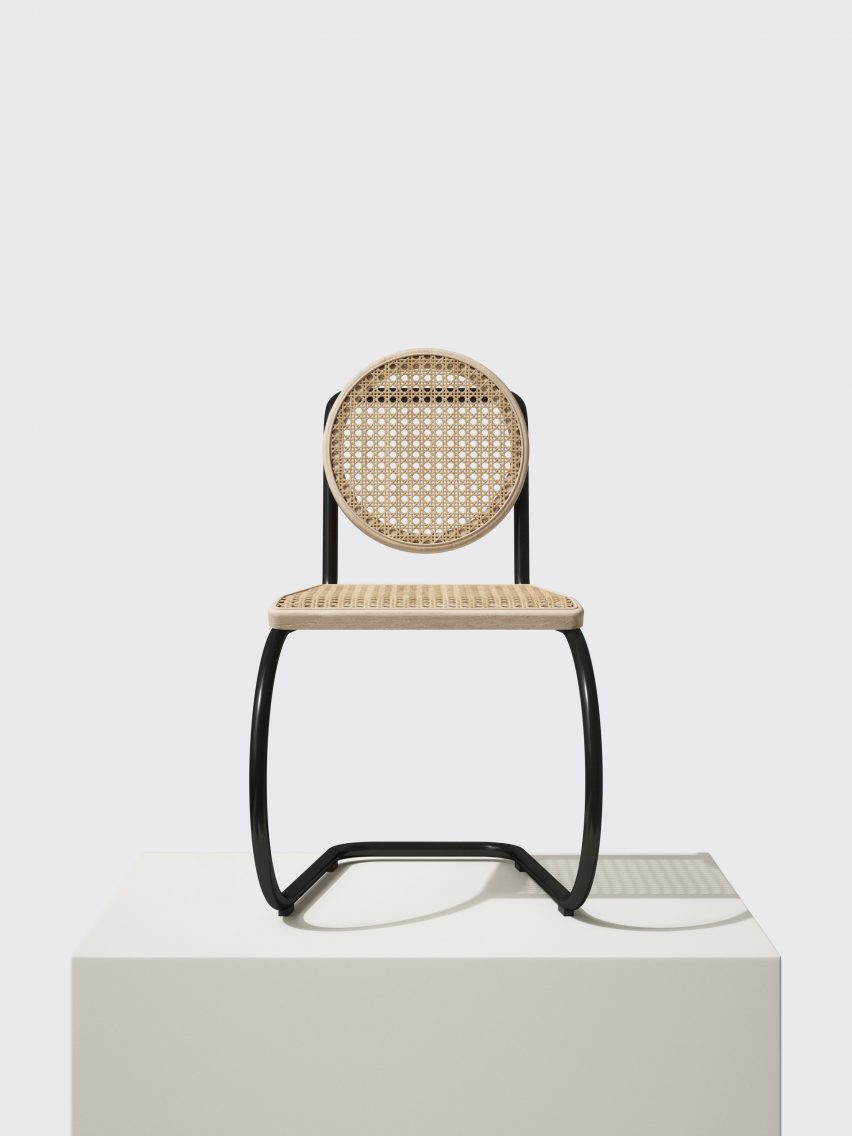 Mater uses recycled plastic and rattan for latest sustainable furniture designs
