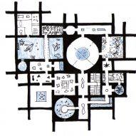 Mazatlán Aquarium by Tatiana Bilbao sketch plan