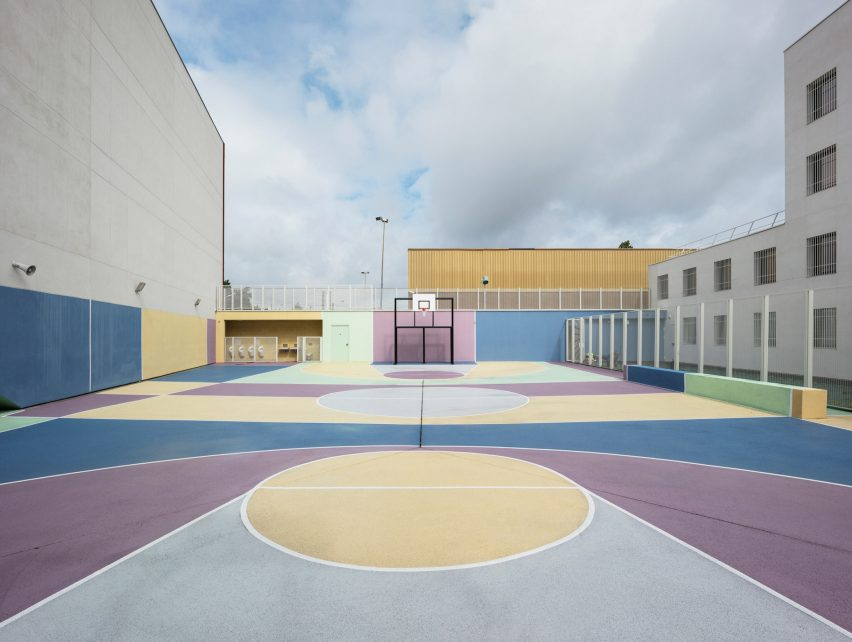Minimum security prison in Nanterre by Local Architecture Network LAN