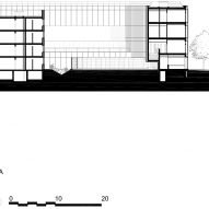 Section A of Minimum security prison in Nanterre by Local Architecture Network LAN