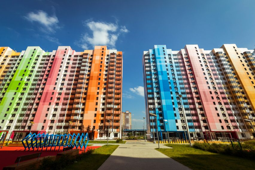 Muscovite neighborhood by Iosa Ghini Associati and Mosproekt-3