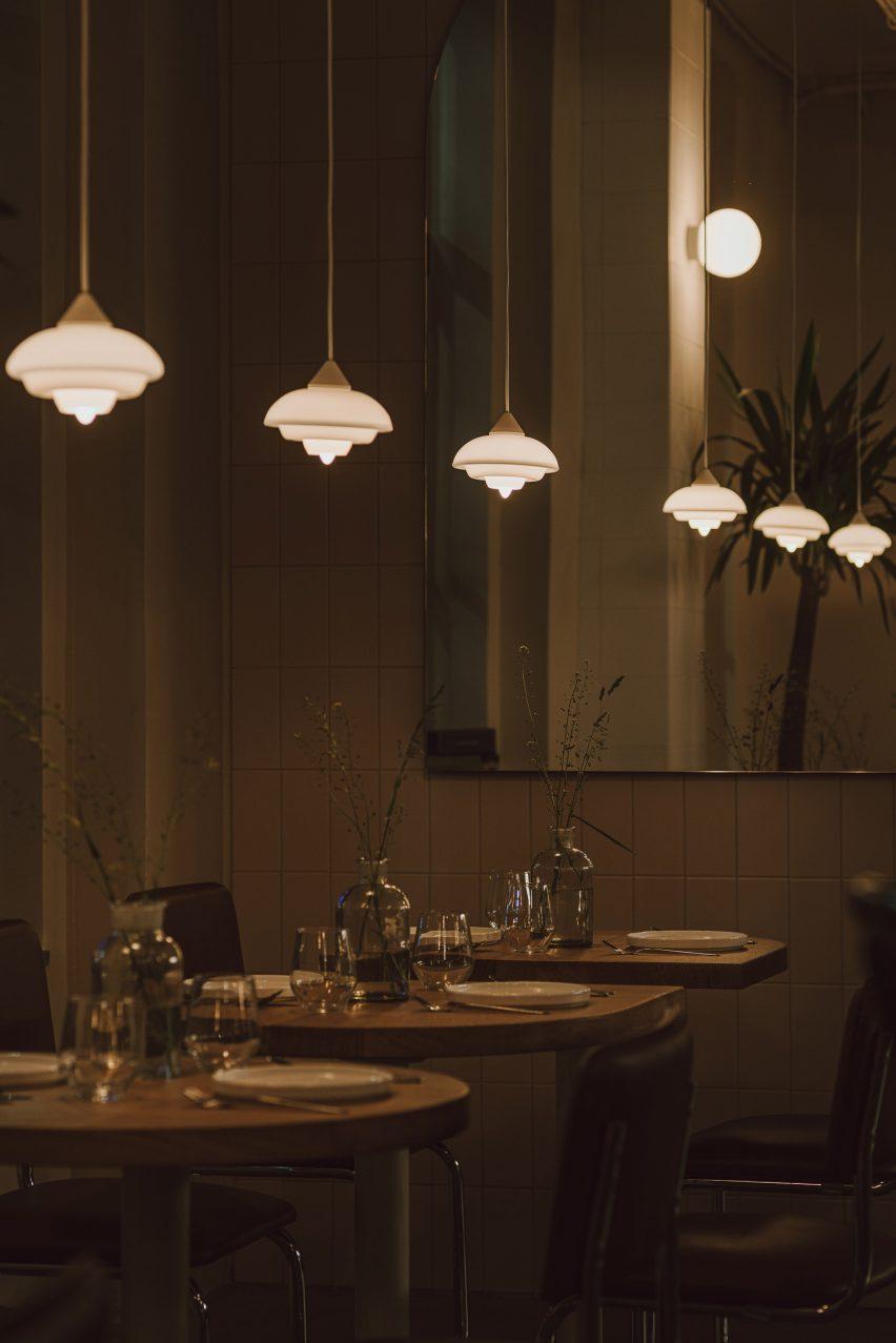 Nadzieja restaurant designed by Agnieszka Owsiany Studio