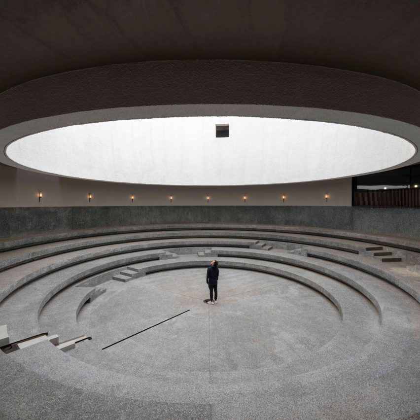 Dezeen's top 10 Chinese architecture projects of 2019: Aranya Art Center, Qinhuangdao, by Neri&Hu