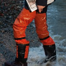 Nicholas Bennett designs flood-proof commuter suit for rising sea levels