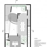 First floor plan of Office 543 by Charged Voids
