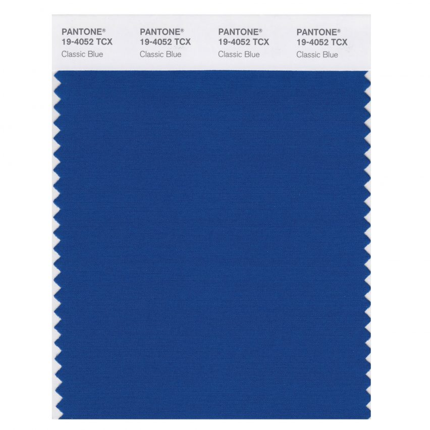 Classic Blue is Pantone's colour of the year for 2020