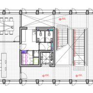 PEM Building Alberto Moletto First Floor Plan