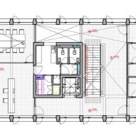 PEM Building Alberto Moletto Second Floor Plan