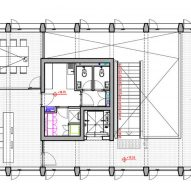 PEM Building Alberto Moletto Third Floor Plan