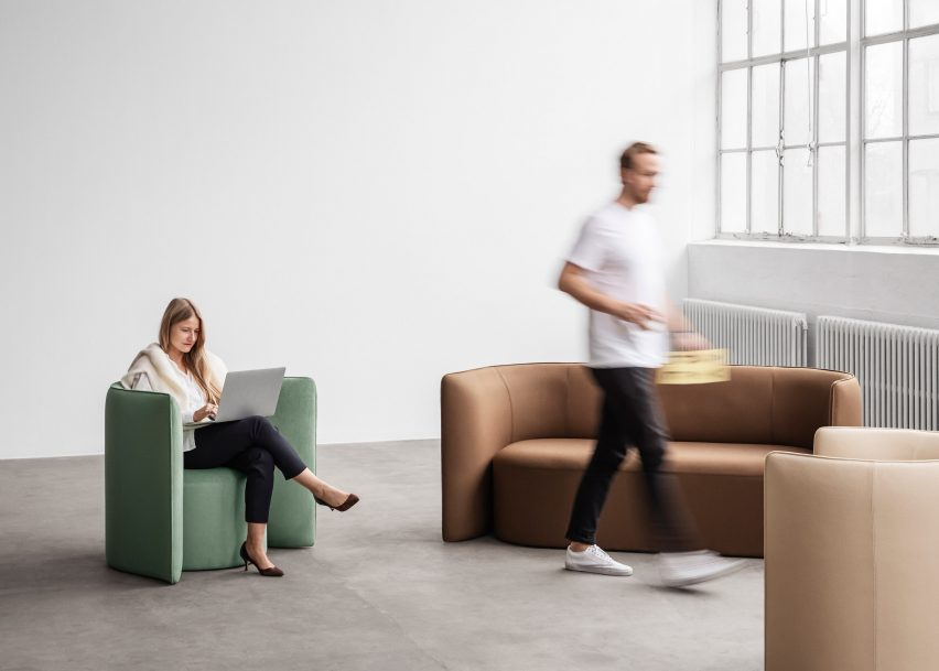 Proto sofa by Nick Ross for +Halle