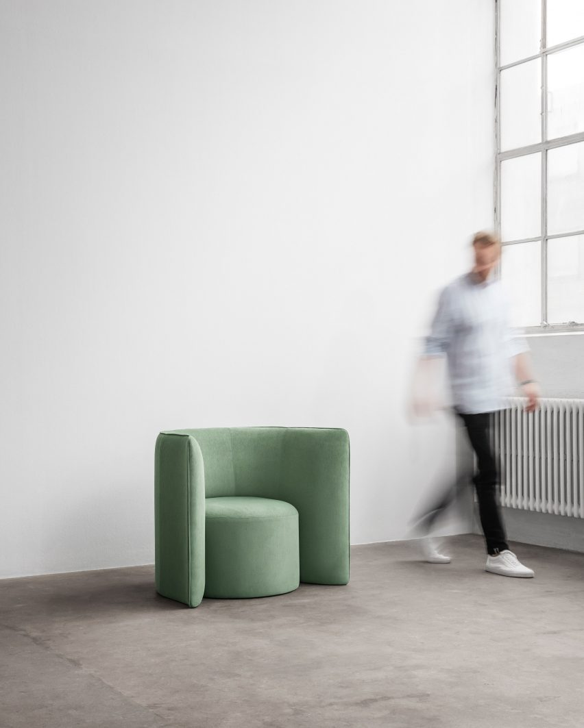 Proto chair by Nick Ross for +Halle