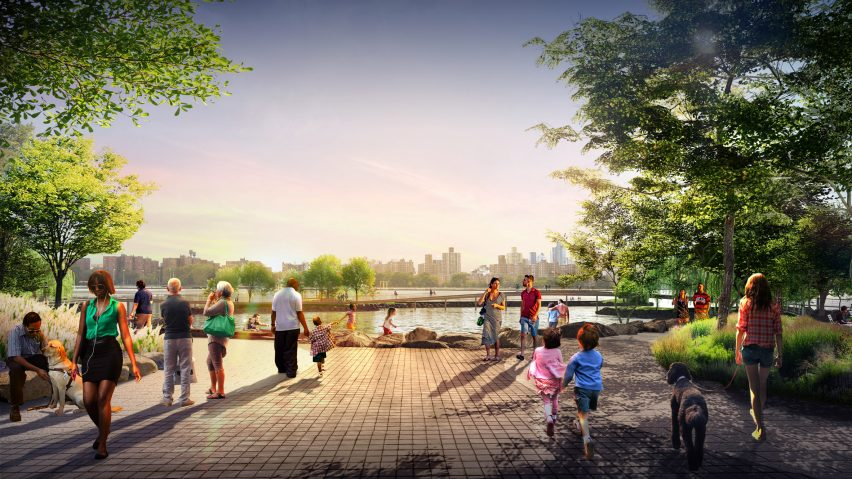 River Street Waterfront Masterplan by Bjarke Ingels Group