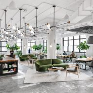 Michael Hsu designs Shake Shack's New York headquarters in industrial space