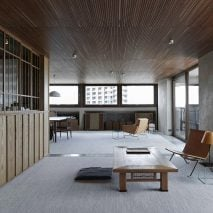 Shakespeare Tower apartment by Takero Shimazaki Architects