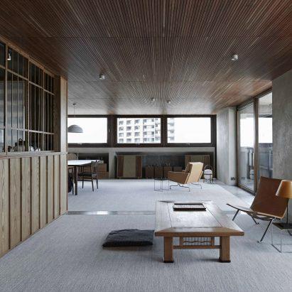 Shakespeare Tower apartment by Takero Shimazaki Architects