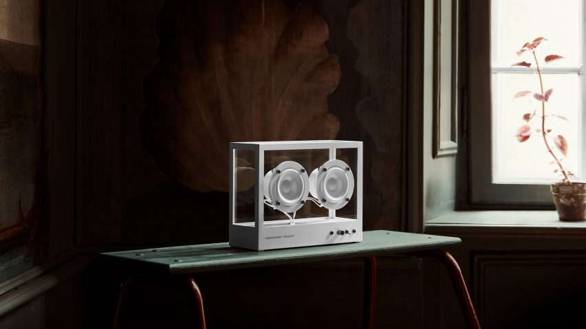 Small Transparent Speaker by Transparent Sound
