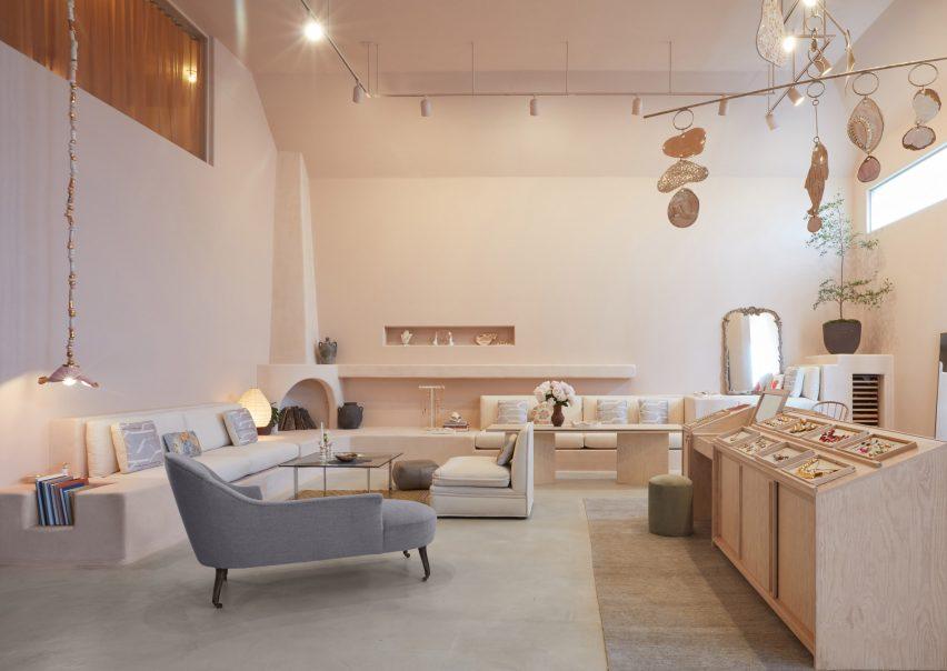 Sonia Boyajian studio and store by Studio Shamshiri