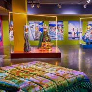 Sasha Bikoff references 1990s Versace campaigns for Design Miami exhibit