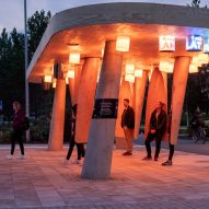 Station of Being is an interactive Arctic bus stop