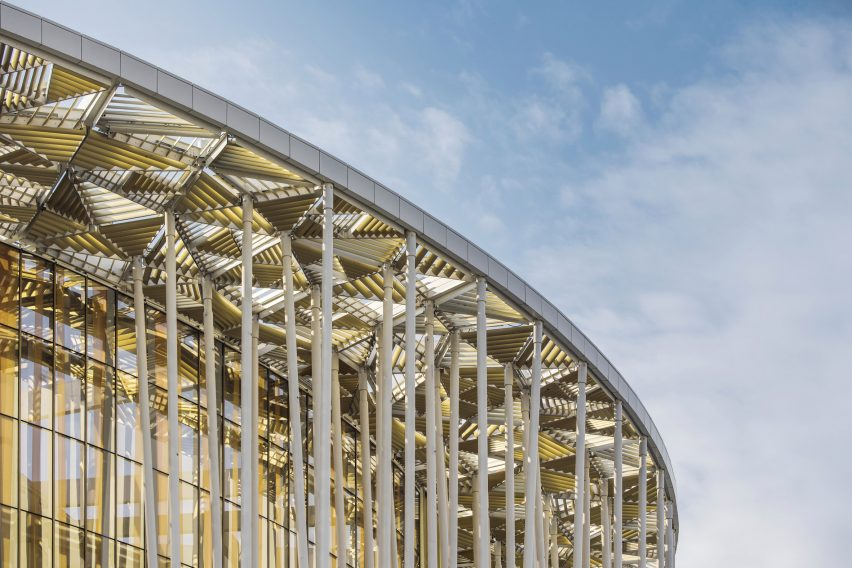Wuxi Taihu Show Theatre by Steven Chilton Architects in Wuxi, China